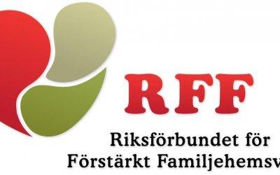 Nu är vi medlemmar i RFF!